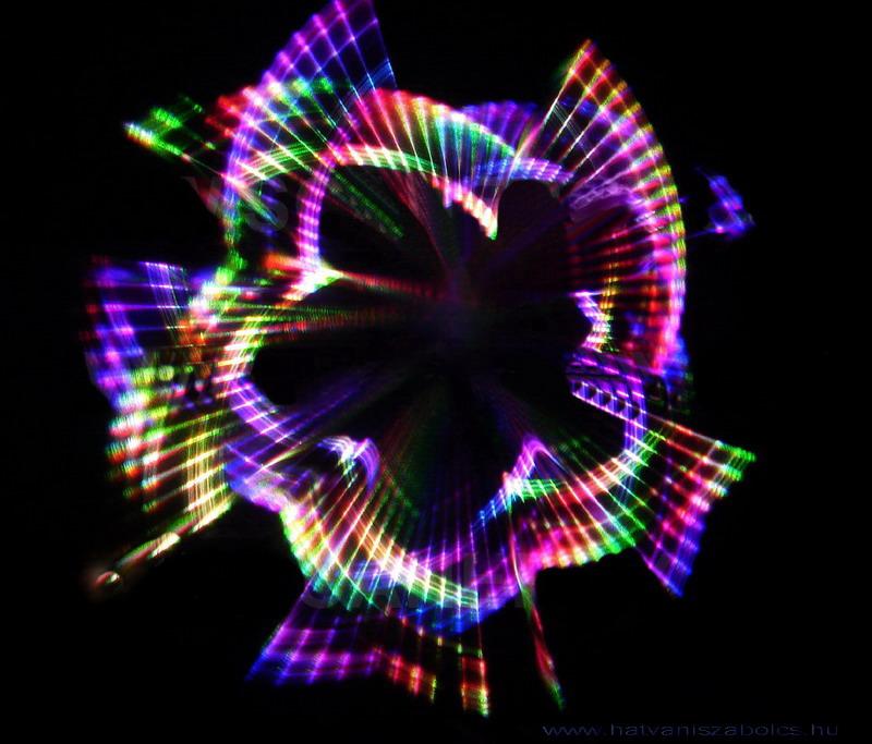 Kaleidoszkóp Lézer Kép